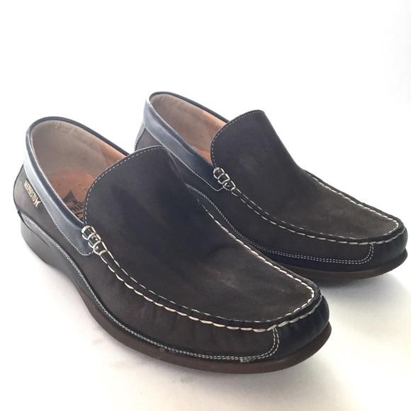 a2a96da91e8 Mephisto Baduard  Loafer Leather suede brown 8.5. M 5c095055fe5151c8b60f985a